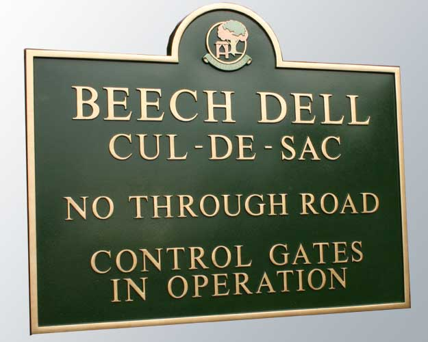 Estate Entrance Signs