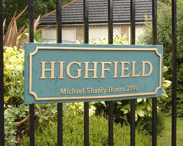 Housing Estate Entrance Signs