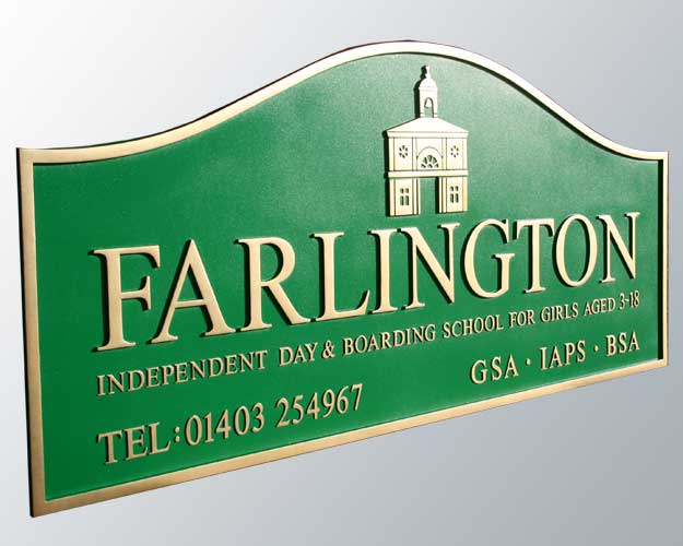 Farlington School Signs