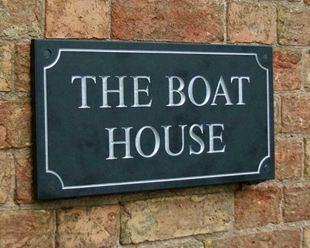 Slate Signs and Granite Signs